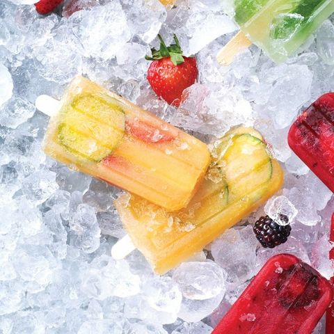 Pimms ice lollies