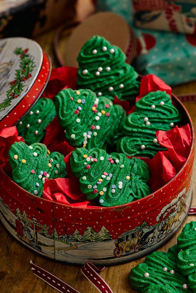 Christmas Spritz Cookies