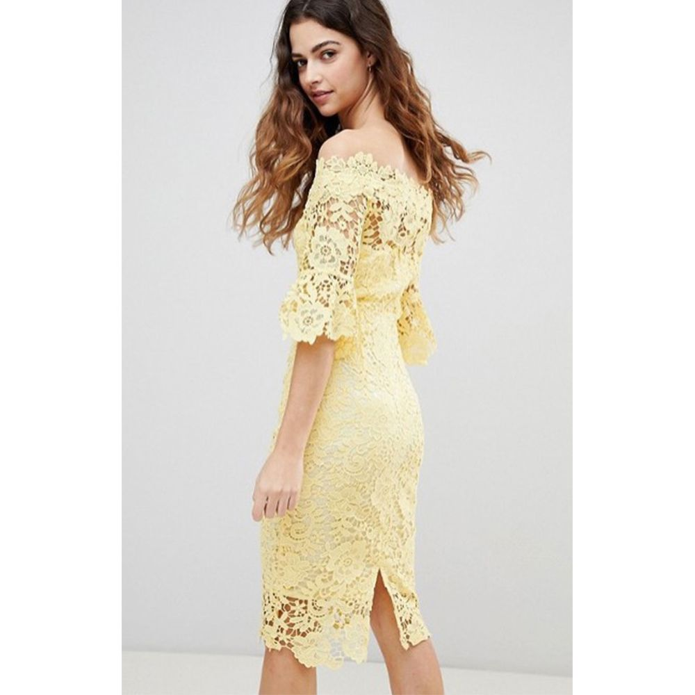 ae41cdef5418 Floral Print Jacquard Midi Dress Topshop
