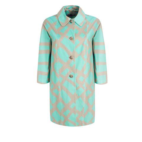 Blue, Collar, Sleeve, Textile, Coat, Dress shirt, Pattern, Teal, Aqua, Turquoise,