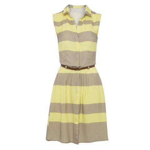 Brown, Product, Yellow, Sleeve, Collar, Textile, White, Pattern, Fashion, Black,