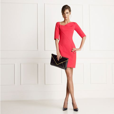 Clothing, Dress, Sleeve, Shoulder, Bag, Joint, Style, One-piece garment, Fashion accessory, Waist,