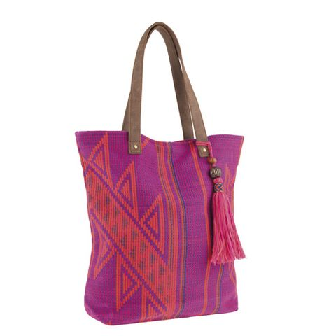 Product, Bag, Textile, Style, Purple, Fashion accessory, Magenta, Pattern, Shoulder bag, Luggage and bags,