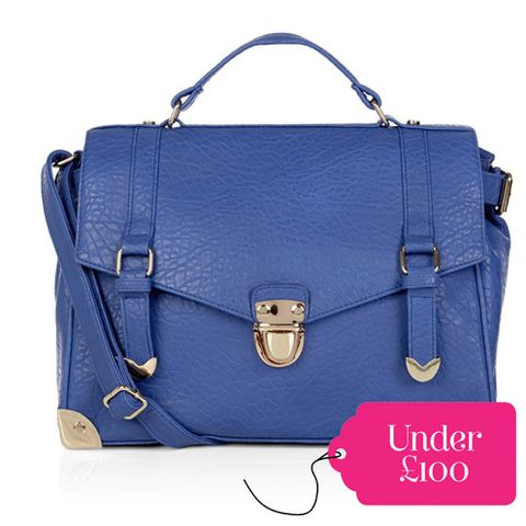 Blue, Product, Brown, Bag, White, Style, Beauty, Electric blue, Luggage and bags, Fashion accessory,