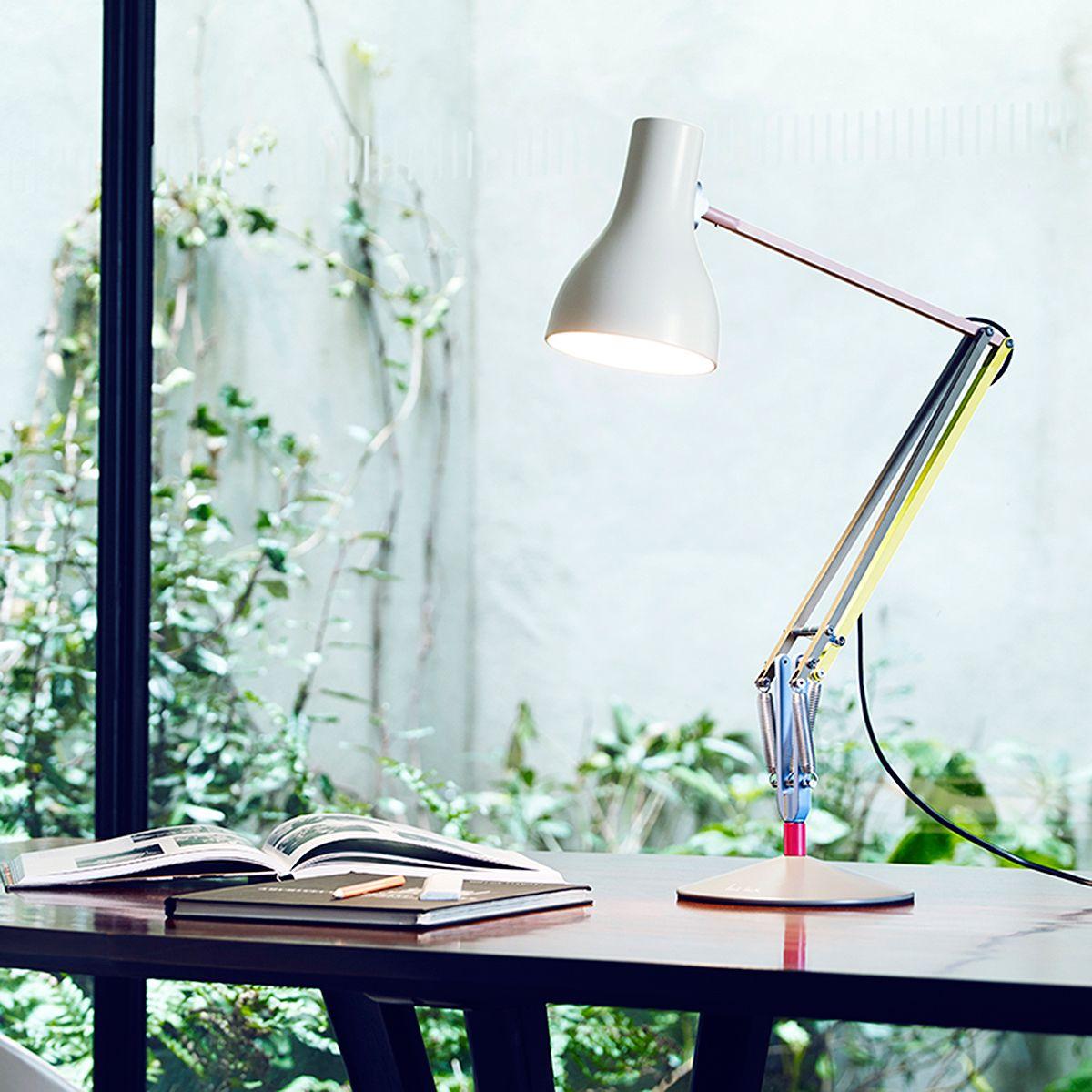Office Desk Lamp: £149, Anglepoise + Paul Smith