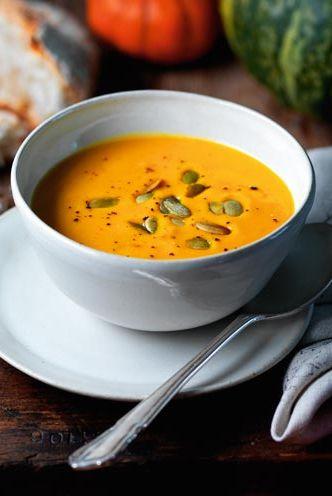 Pumpkin recipes -Spiced Pumpkin Soup