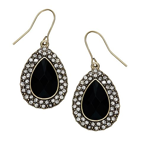 Earrings, Product, Jewellery, Fashion accessory, Metal, Fashion, Black, Body jewelry, Natural material, Design,