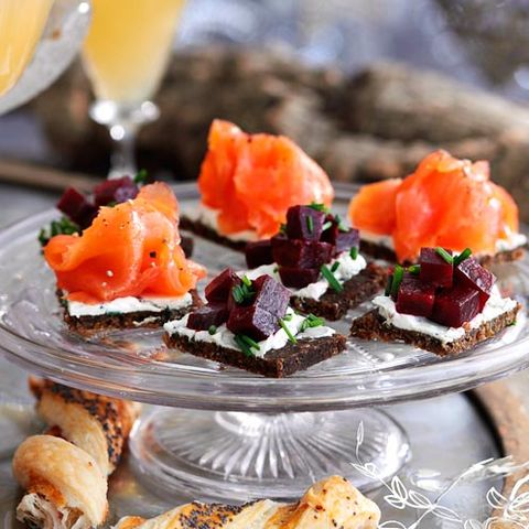 Recipes For Christmas 13 Of The Best Festive Canapes