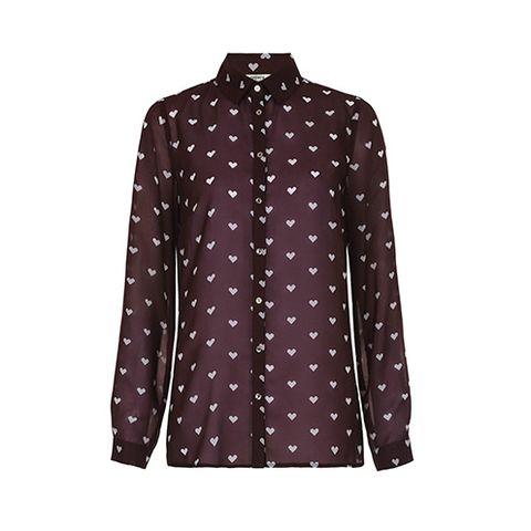 Dress shirt, Collar, Sleeve, Coat, Pattern, Textile, Outerwear, Blazer, Fashion, Button,