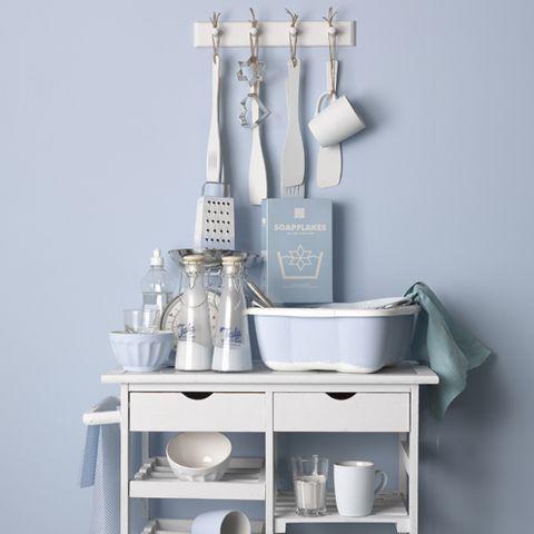 Product, Dishware, Shelving, Serveware, Grey, Teal, Shelf, Still life photography, Silver, Porcelain,