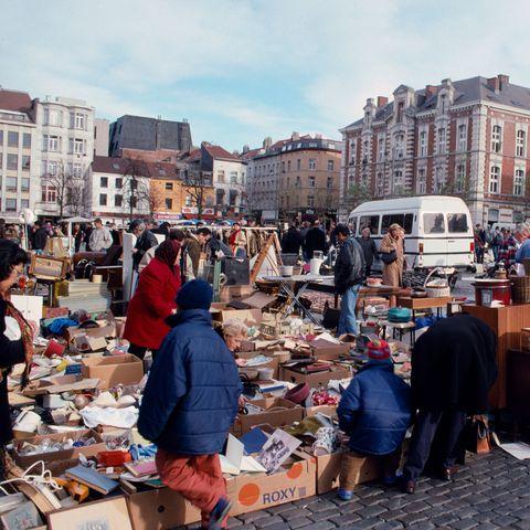 City, Public space, Marketplace, Market, Bazaar, Customer, Town, Trade, Flea market, Retail,