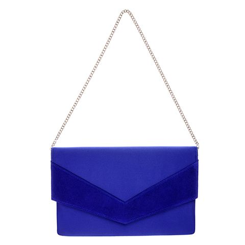 Blue, Electric blue, Triangle, Azure, Cobalt blue, Majorelle blue, Parallel, Square, Symmetry, Shoulder bag,