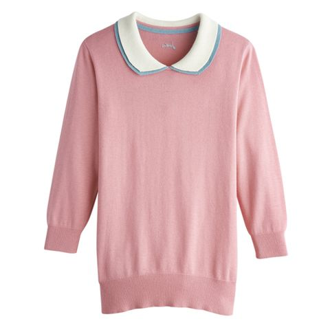 Product, Sleeve, Textile, White, Pink, Pattern, Fashion, Neck, Baby & toddler clothing, Sweater,