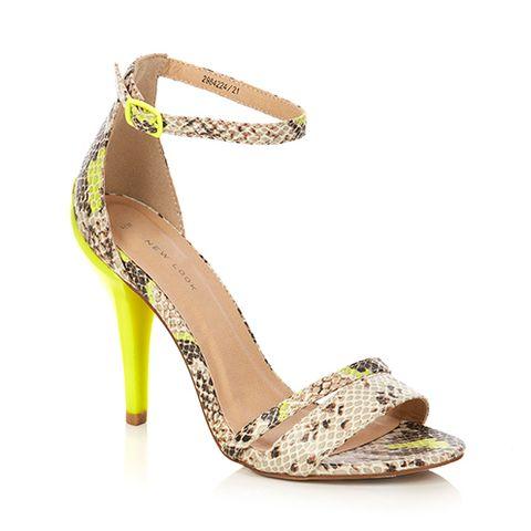 Footwear, Brown, Yellow, High heels, Sandal, Style, Tan, Foot, Fashion, Basic pump,
