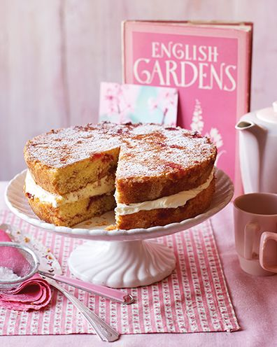 best sponge cake recipes marbled victoria sandwich