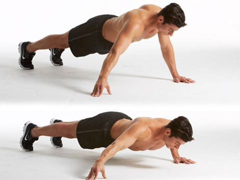 press up, shoulder, arm, physical fitness, fitness professional, joint, chest, leg, plank, abdomen,