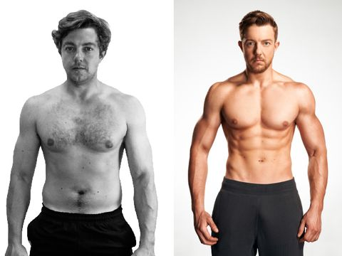 What it's really like to do a Men's Health transformation