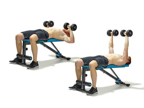 Jason Momoa's chest workout