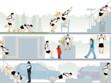 the urban gym workout