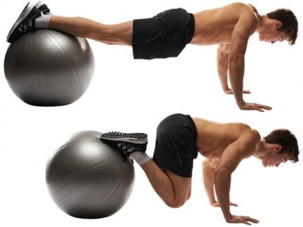 Exercise equipment, Swiss ball, Ball, Fitness professional, Arm, Press up, Ball (rhythmic gymnastics), Physical fitness, Chest, Medicine ball,