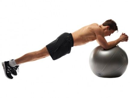 Swiss ball, Ball, Exercise equipment, Arm, Fitness professional, Medicine ball, Physical fitness, Sports equipment, Press up, Exercise,