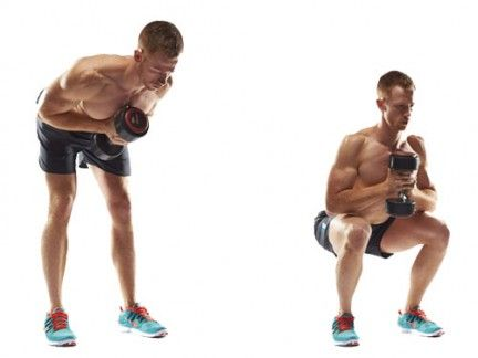 The Home Dumbbell Workout for a Six-pack in Three Weeks