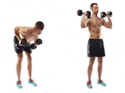 Build a Six-pack at Home in Three Weeks with Dumbbells