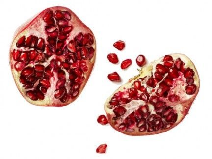 Red, Organ, Carmine, Maroon, Pomegranate, Produce, Natural foods, Fruit, Superfruit, Superfood,