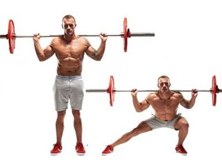 Arm, Human leg, Chin, Physical fitness, Chest, Shoulder, Elbow, Weights, Wrist, Standing,