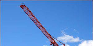 Nature, Sky, Photograph, Crane, Line, Landmark, Construction, Construction equipment, Parallel, Composite material,