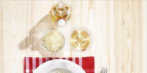 Dishware, Food, Cuisine, Ingredient, Tableware, Leaf vegetable, Dish, Produce, Recipe, Kitchen utensil,