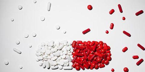 Red, Liquid, Fluid, Pattern, Carmine, Heart, Circle, Drop, Coquelicot, Drizzle,