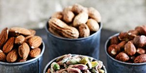 Food, Ingredient, Nut, Cylinder, Produce, Finger food, Nuts & seeds, Mixed nuts, Snack, Conifer,