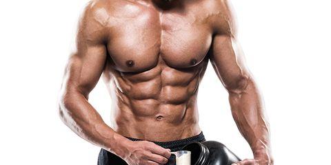 Bodybuilder, Shoulder, Wrist, Chest, Human leg, Elbow, Standing, Joint, Physical fitness, Trunk,