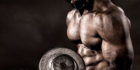 Shoulder, Standing, Elbow, Wrist, Chest, Muscle, Back, Bodybuilder, Barechested, Monochrome photography,