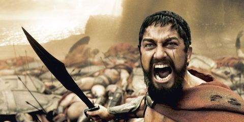 Chest, Tooth, Viking, Battle, Barechested, Abdomen, Action film, Stock photography, Shout, Fictional character,