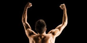 Muscle, Shoulder, Bodybuilder, Arm, Barechested, Abdomen, Bodybuilding, Standing, Physical fitness, Joint,