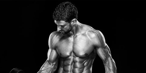 Muscle, Barechested, Bodybuilding, Arm, Physical fitness, Shoulder, Chest, Bodybuilder, Sport venue, Abdomen,