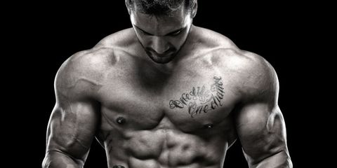 Shoulder, Chest, Barechested, Joint, Standing, Bodybuilder, Style, Trunk, Muscle, Abdomen,