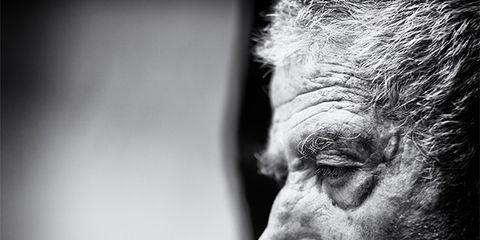Face, White, Skin, Black-and-white, Black, Wrinkle, Eye, Head, Monochrome, Nose,