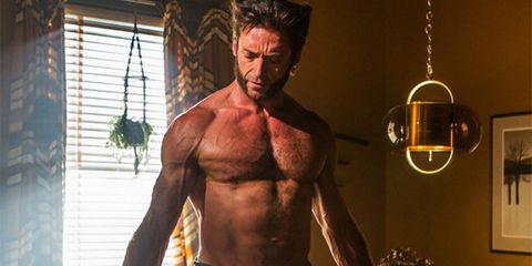 Barechested, Muscle, Bodybuilder, Wolverine, Chest, Abdomen, Bodybuilding, Facial hair, Arm, Human,