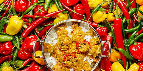Food, Ingredient, Vegetable, Spice, Produce, Bird's eye chili, Bell peppers and chili peppers, Malagueta pepper, Cuisine, Whole food,