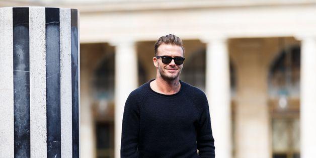 David Beckham on style