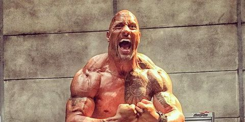 The Rock S Pain And Gain Workout Programme
