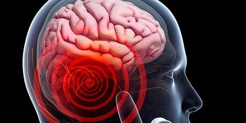 Forehead, Red, Colorfulness, Brain, Human anatomy, Organ, Muscle, Art, Graphic design, Brain,