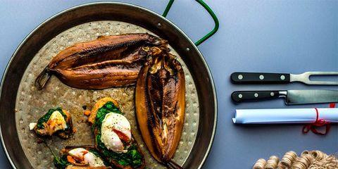 Food, Seafood, Ingredient, Metal, Office supplies, Recipe, Dish, Meat, Fish, Bivalve,