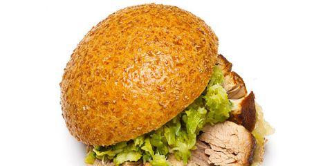 Dish, Food, Cuisine, Fast food, Ingredient, Veggie burger, Junk food, Bun, Slider, Hamburger,