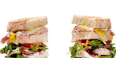 Food, Finger food, Sandwich, Cuisine, Baked goods, Ingredient, Breakfast, Leaf vegetable, Produce, Vegetable,