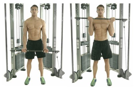 Shoulder, Standing, Arm, Leg, Human leg, Exercise equipment, Joint, Chest, Muscle, Physical fitness,