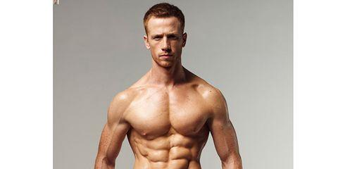 Human, Skin, Human body, Chin, Trousers, Shoulder, Chest, Human leg, Bodybuilder, Standing,